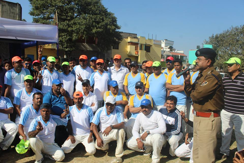 One day Cricket Tournament held at Budha cricket ground on 28.01.17 with Commissioner of Police Akadash V/S Asansol mahanagar Mayar Akadas