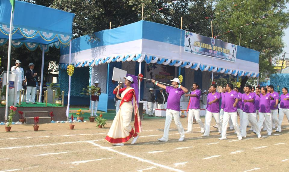 1st day of 6th Annual Asansol Durgapur Police Sports on 30.01.2017
