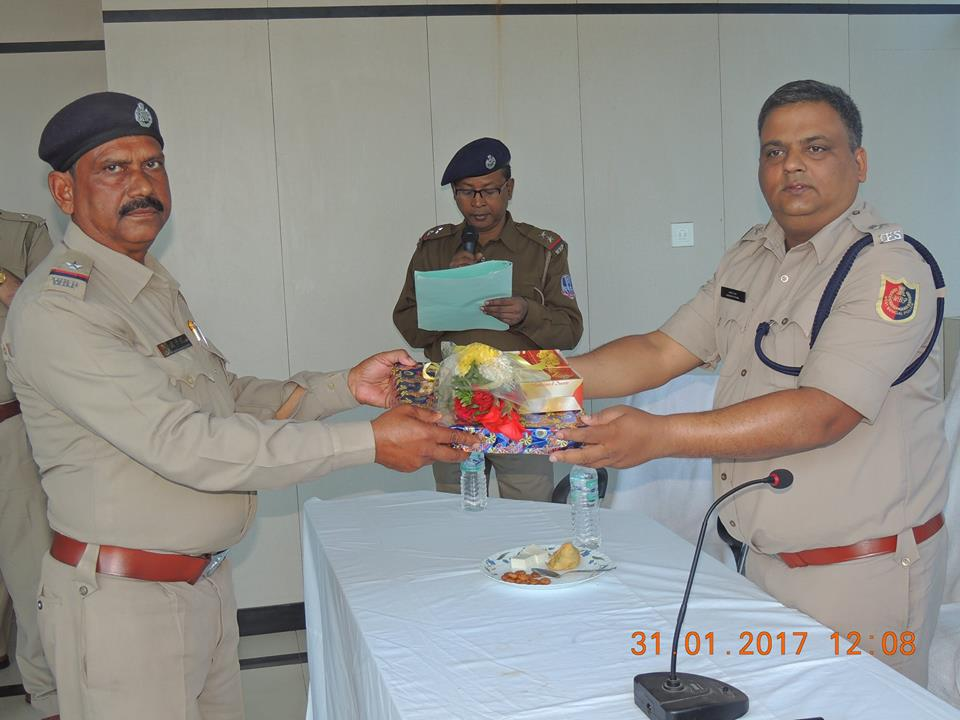 On 31.01.2017 a superannuation programme held at office of the commissioner of police
