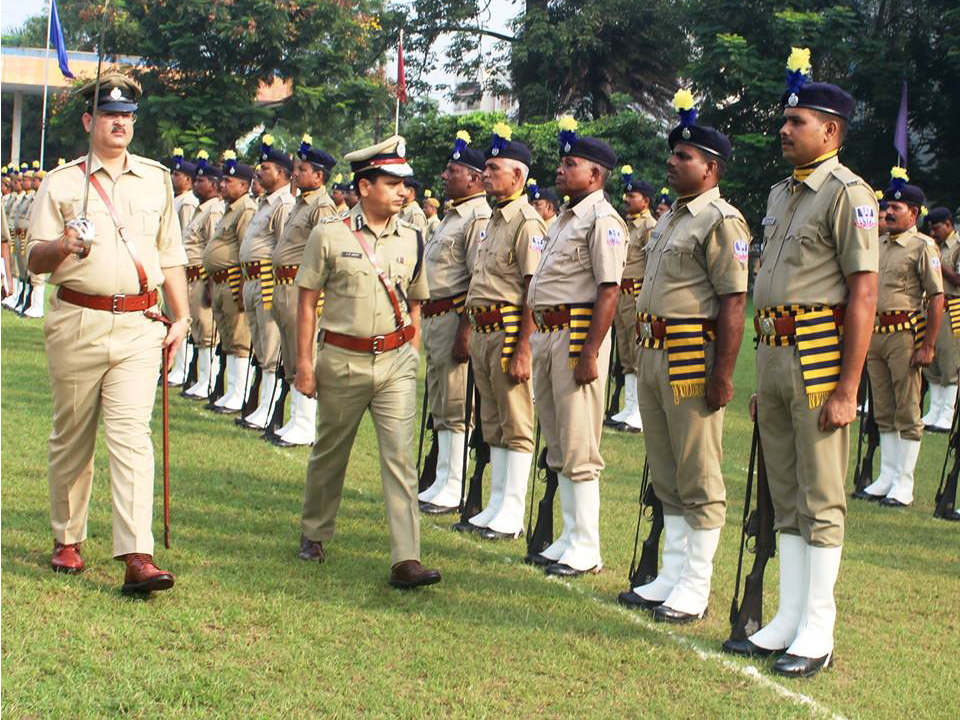 6th Raising Day Parade held at Asansol Police Lines on 1st September 2017 morning