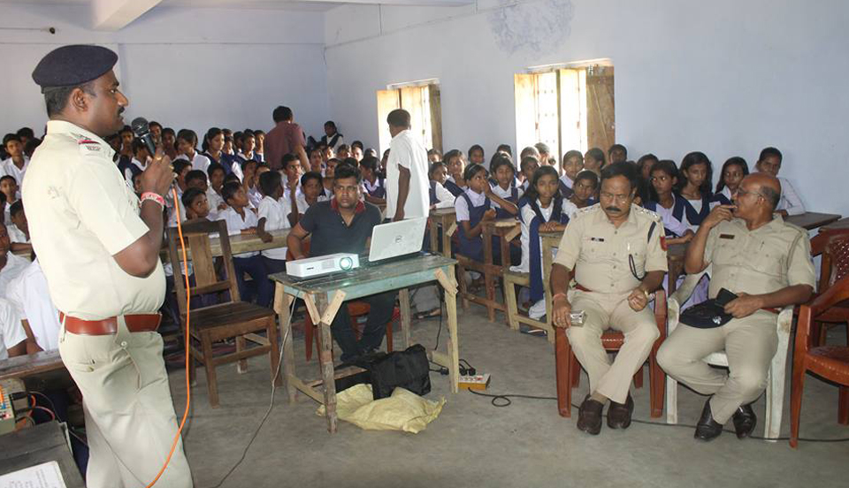 An Interaction Cum Felicitation Programme organised by Budbud PS Debsala High School on 08.05.2017.