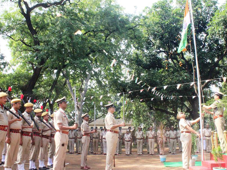 71 Independence Day Celebrations at Commissioner Office