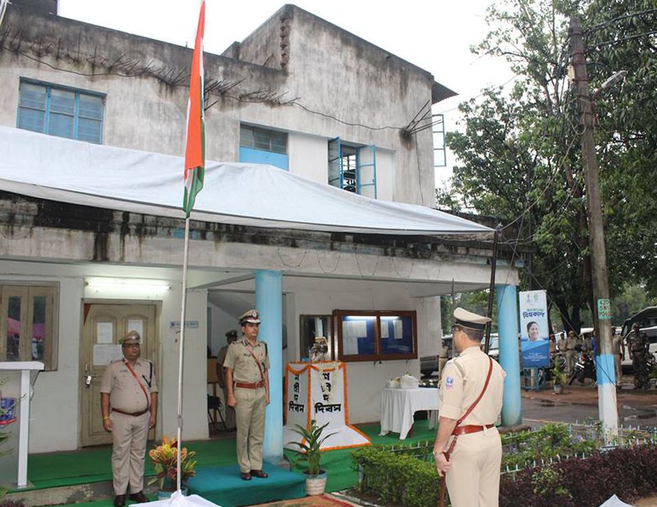 Commemoration Day Celebrate at Asansol Durgapur Police Commissionerate on 21st Oct 2017
