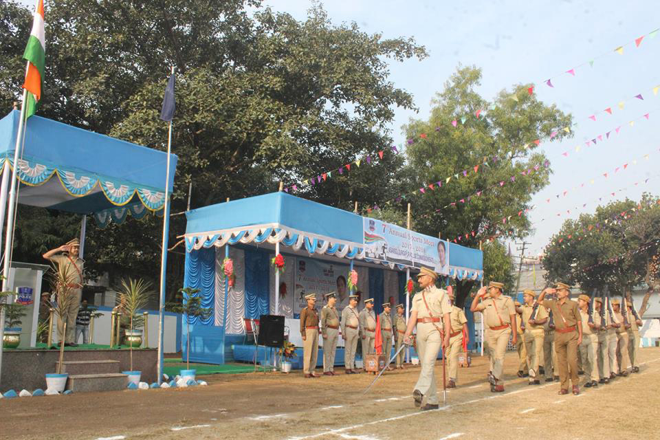 Celebration of Home Guard Raising Day on 6 th December 2017 at Asansol Police Lines.