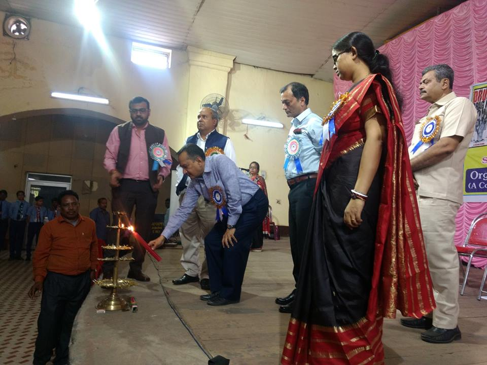 An Interaction Cum Felicitation Programme at Asansol South PS