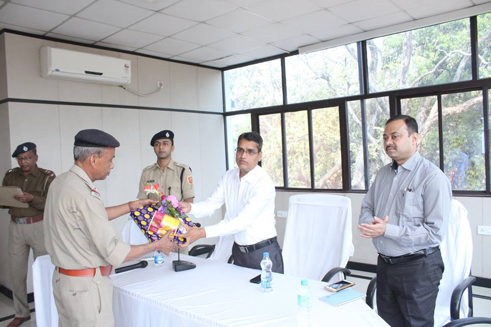 superannuation programme held at office of the commissioner of police