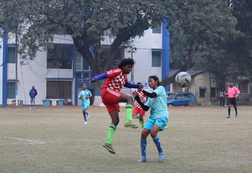One day knock out football tournament, org. by- Asansol Women police station AT ASANSOL POLICE LINE GROUND ON 12.01.2018