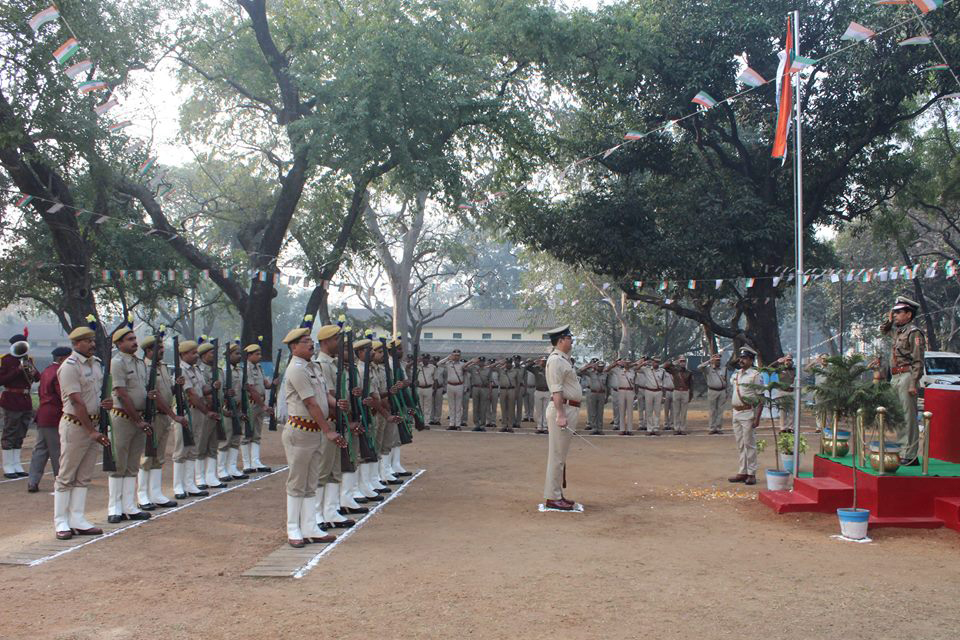 Asansol Durgapur Police added 9 new photos to the album: 69th Republic Day Celebrations at Commissioner Office Asansol