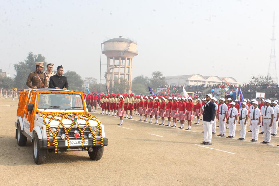 69th Republic Day Celebrations at Polo Ground, Asansol.