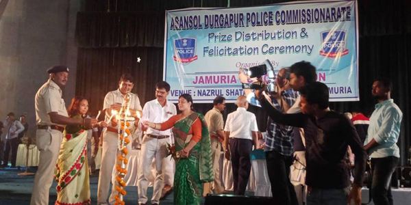 On 12.07.2018 a Prize distribution & Falitation Programme organized by jamuria PS