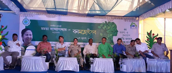Today on 19.07.2018 Banomahatsav Programme was celebrated in the view of planting more and more Trees to Save the Environment as well as ECO System_723