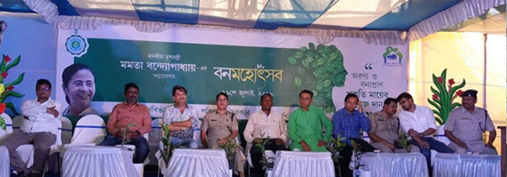 ASANSOL-DURGAPUR POLICE COMMISSIONERATE WEST BENGAL GOVERMENT Today on 19.07.2018 Banomahatsav Programme was celebrated in the view of planting more and more Trees to Save the Environment as well as ECO System_723