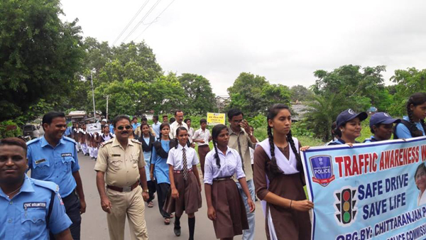 Traffic Awareness on Safe Drive Save Life at Different PSs under ADPC._63555