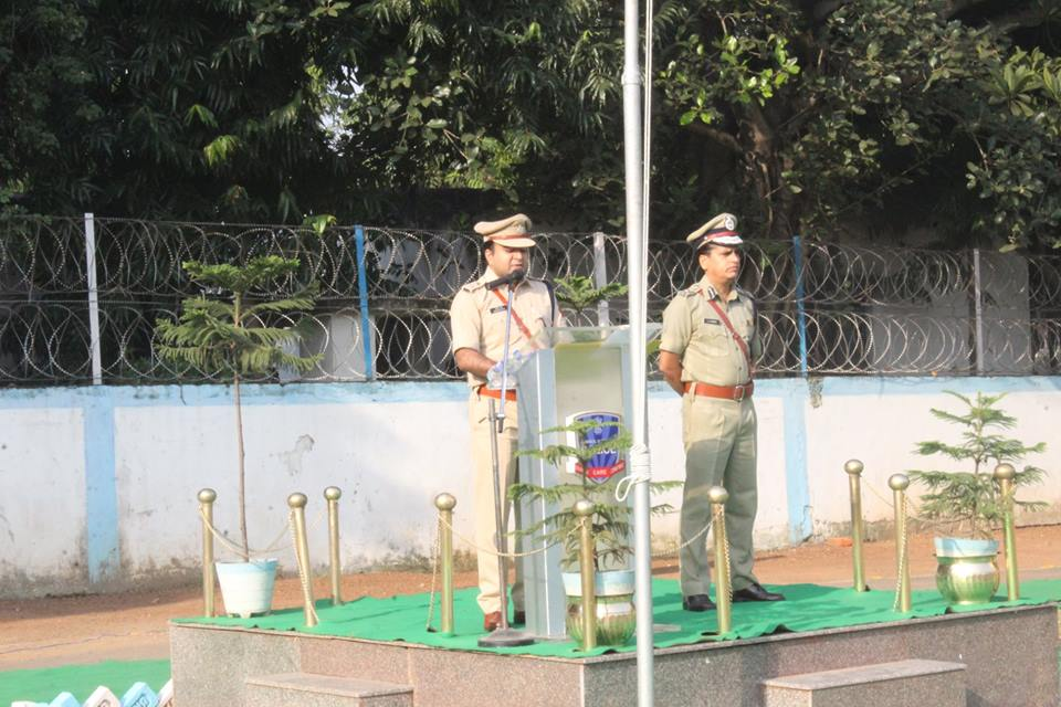 Commemoration Day Celebrate at Asansol Durgapur Police Commissionerate on 21st Oct 2018