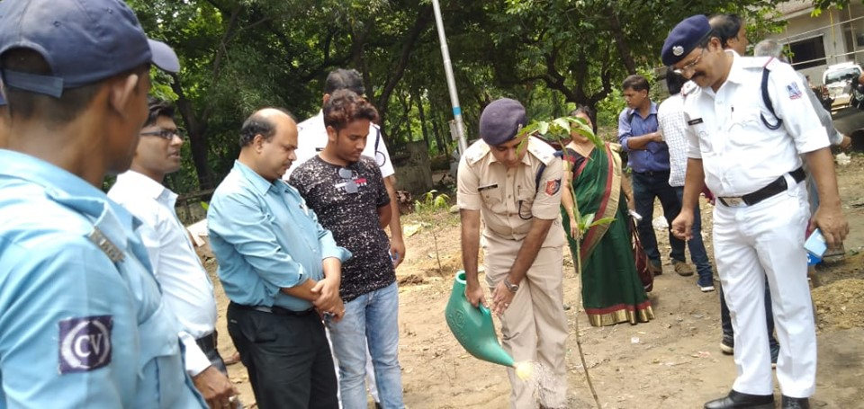 Today On 23.07.2019 a Blood Donation Camp & Tree Plantation programme organised by Bidhannagar OP, PS NTS. In presence of DC East, ACP East, Mayor Durgapur, SDM Durgapur, Super and Director of Hospitals, Local Councilors and other dignitaries.