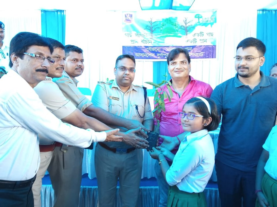 Today on 08.08.19 a Tree Plantaion programme organised by Salanpur PS at Salanpur PS Compound.