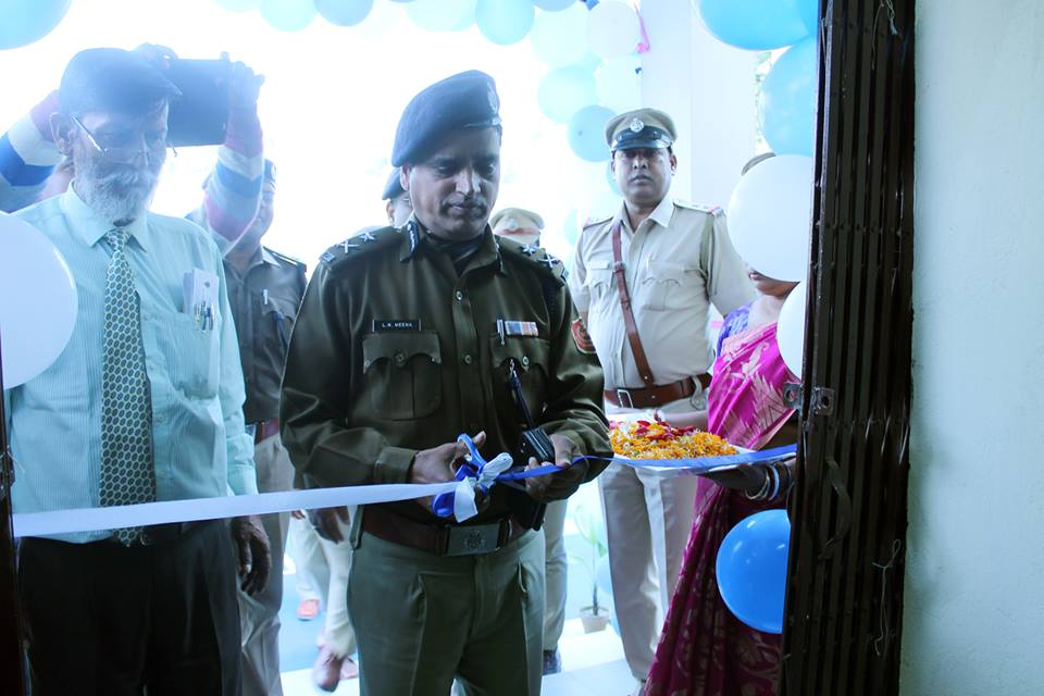 Inauguration of New Barrack and Mess building of Jamuria PS by Hon'ble CP ADPC on Today 22.01.2019