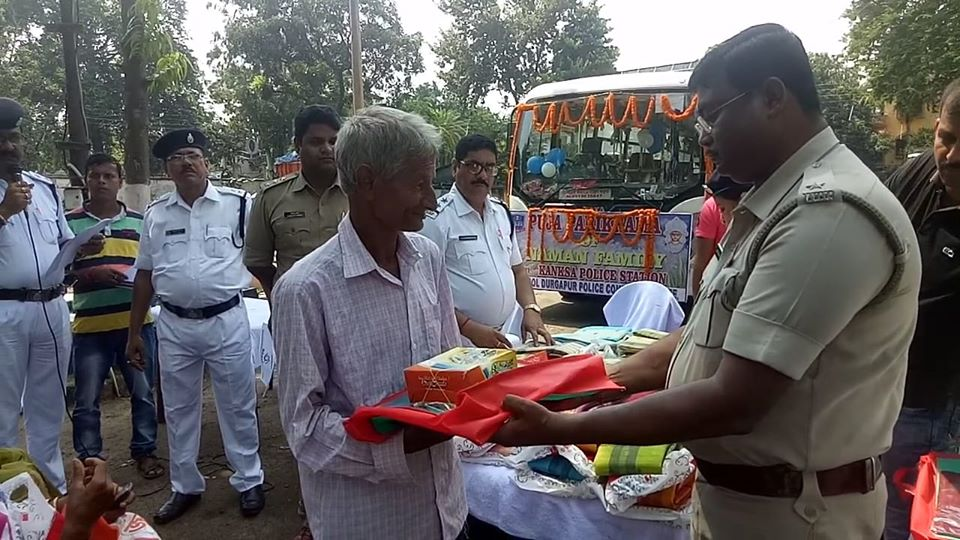 Today Clothes & Sweets were distributed to the 47 numbers. of Senior Citizens ( Member of Naman Family) on the auspicious moment of