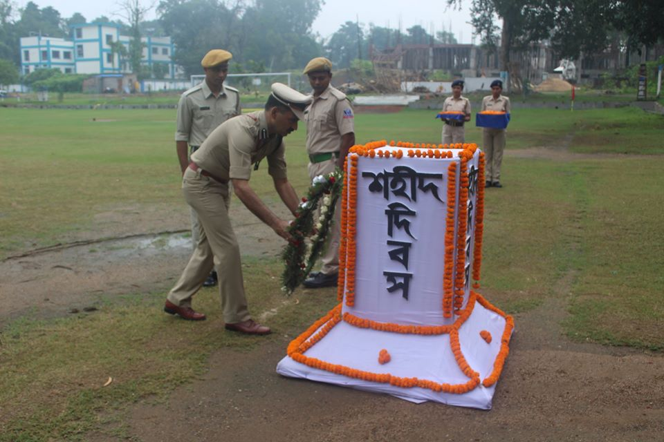 Commemoration Day Celebrate at Asansol Durgapur Police Commissionerate on 21st Oct 2019.