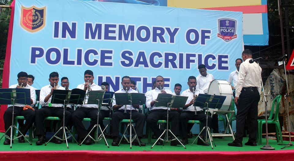 IN MEMORY OF POLICE SACRIFICE IN THE LINE OF DUTY ORGANIZED BY ASANSOL DURGAPUR POLICE COMMISSIONERATE AT BHAGAT SINGH MORE ASNSOL, ON 19th & 20 October 2019.