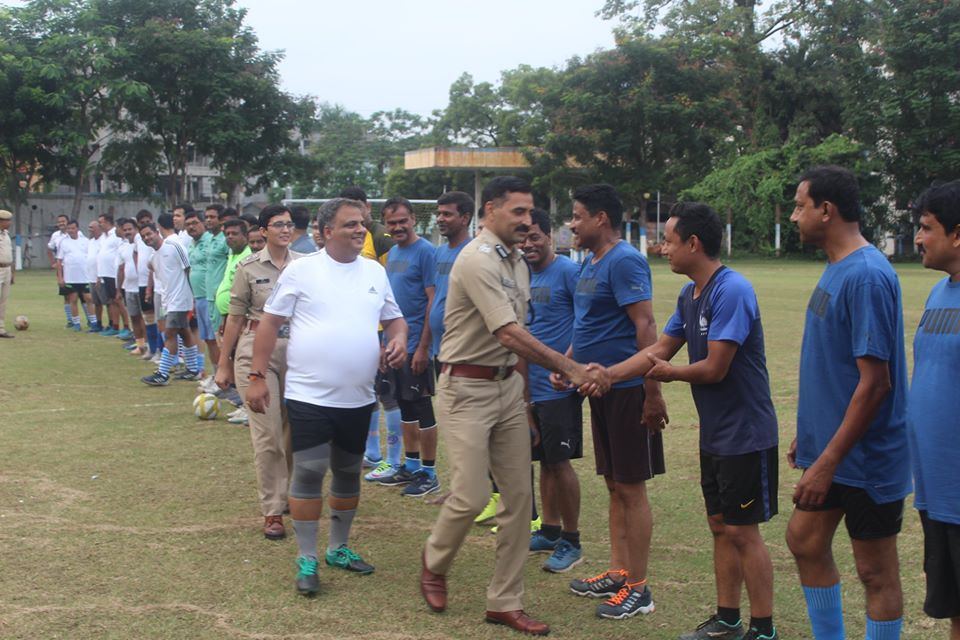 Commissioner Cup Inter Zone Football Tournament held at Asansol Police Lines organized by Asansol Durgapur Police.