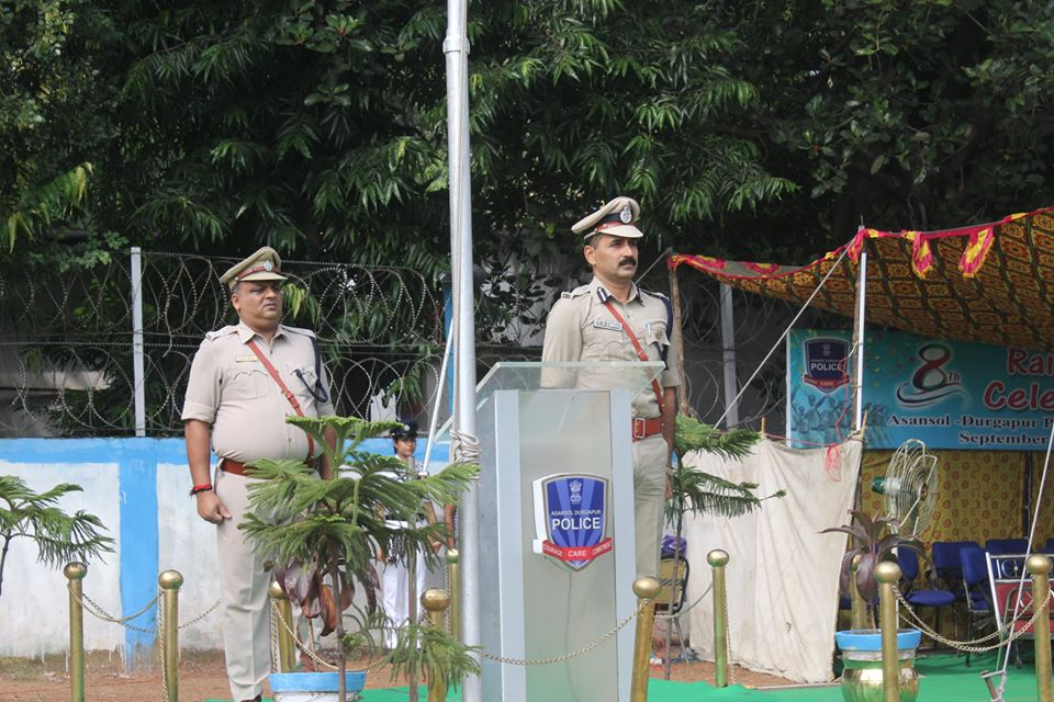 8th Raising Day Parade held at Asansol Police Lines on 1st September 2019 morning.
