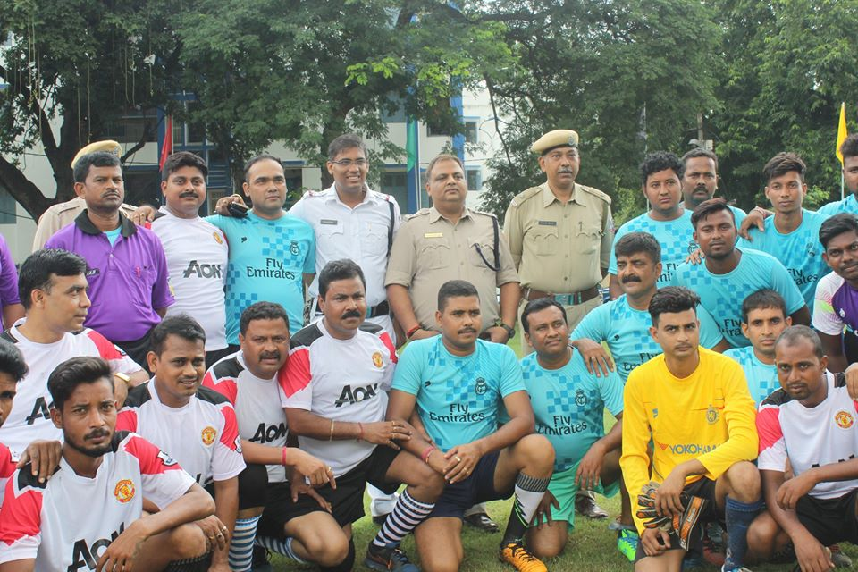 Inter-Unit Football Tournament Match of Asansol Durgapur Police Commissionerate held on 03.09.2019 at Asansol Police Lines Football Ground.