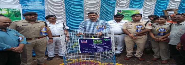 ASANSOL-DURGAPUR POLICE COMMISSIONERATE WEST BENGAL GOVERMENT On 27.07.19 a Tree plantation Ceremony was observed at Kanksa PS through Tree plantation & , Cultural programme, Sit & Draw competition with Art Gallery & Prize distribution. In presence of Hon,ble Commissioner of Police, DCP (East), ACP (East), ACP Kanksa, ACP Traffic - III, Swami Atmananda Maharaj and other dignitaries.