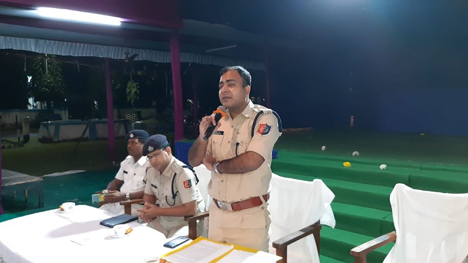 On 24.10.2019 awareness programme on how to celebrate Diwali in an environment friendly manner without crackers and thus to prevent air and sound pollution organized by Durgapur PS at Durgapur PS Compound.