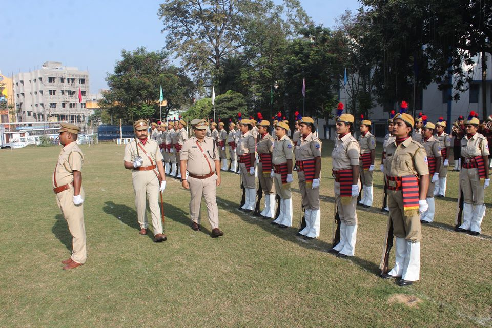 Home Guard Raising Day Parade Celebrated on 6th December 2019 at Asansol Police Lines Parade Ground.