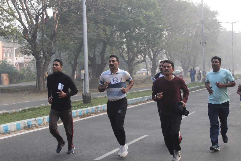 Today on 23rd November a Fun Run for 5 km organised by Asansol Durgapur Police at Durgapur sponsored by TATA Steel Group. The