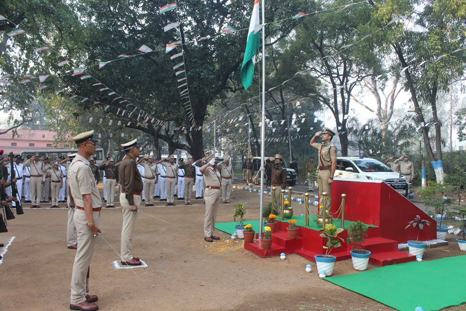 71th Republic Day Celebrations at Commissioner Office Asansol
