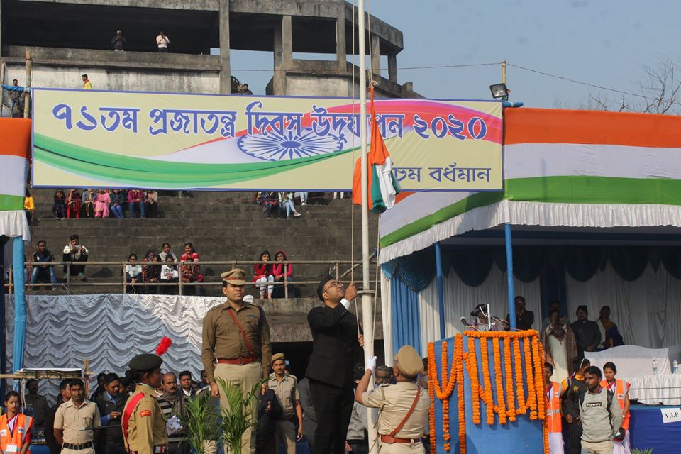 71th Republic Day Celebrations at Polo Ground, Asansol