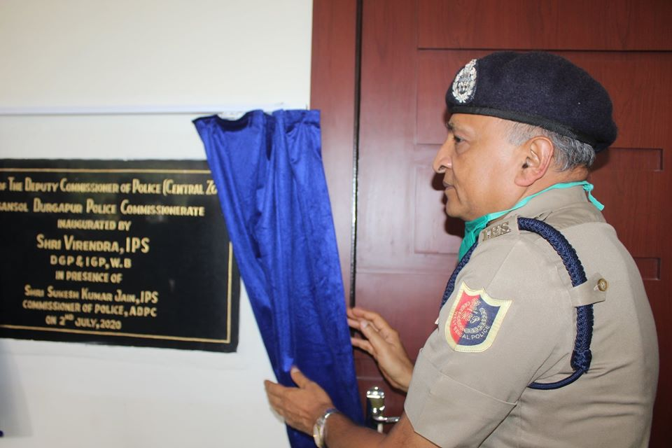 Shri Virendra, IPS, Hon'ble DG & IGP, West Bengal inaugurated Office of the Deputy Commissioner of Police (Central), Asansol Durgapur Police Commissionerate