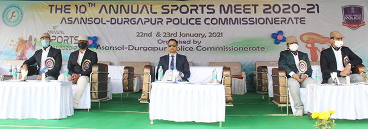 ASANSOL-DURGAPUR POLICE COMMISSIONERATE WEST BENGAL GOVERMENT 10th Annual Sports Meet 2021