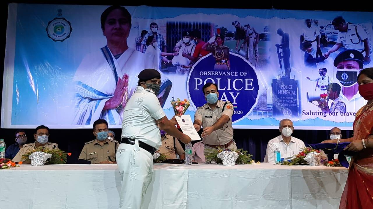 Celebration of Police Day at Srijani Hall, Durgapur