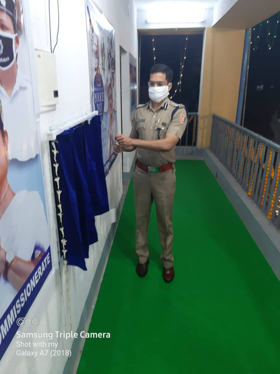 Inauguration of Home Guard Barrack, Asansol Police Lines