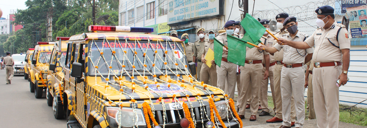 ASANSOL-DURGAPUR POLICE COMMISSIONERATE WEST BENGAL GOVERMENT Inaguration of Motor Accident Claim Cell - ADPC