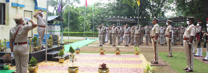 ASANSOL-DURGAPUR POLICE COMMISSIONERATE WEST BENGAL GOVERMENT 75th Independence Day 2021