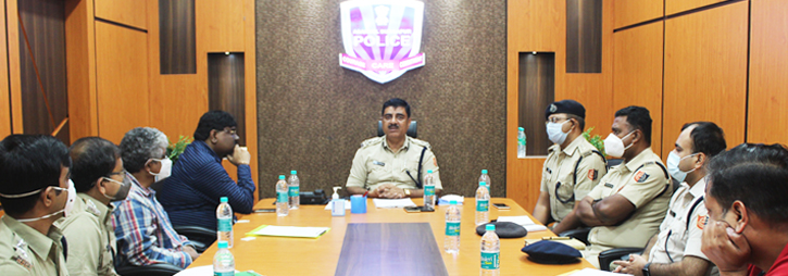 ASANSOL-DURGAPUR POLICE COMMISSIONERATE WEST BENGAL GOVERMENT Meeting with Excise department