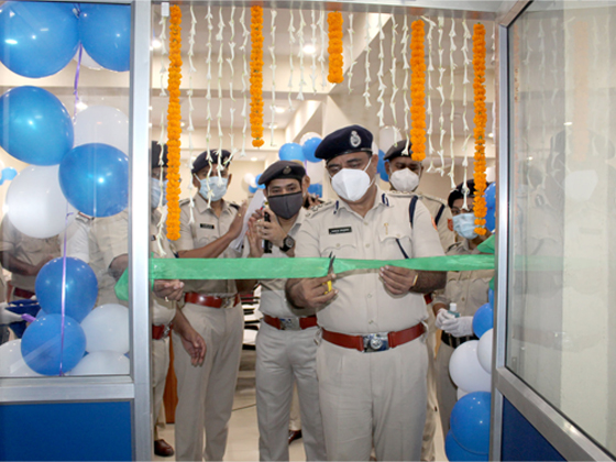 On 01.07.2021 Shri Ajay Kumar Thakur, IPS Hon'ble Commissioner of Police Asansol-Durgapur inaugurated Motor Accident Claim Cell, ADPC