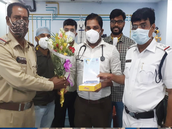 On this occasion of National Doctor's Day we salute our Doctor's for their outstanding performance during the Pandemic.