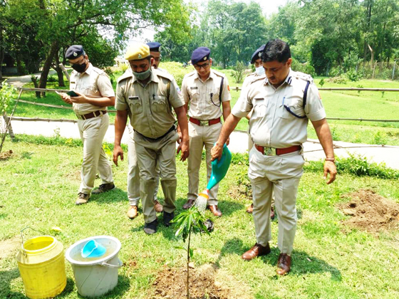 Plantation ceremony on the eve of World Environment Day