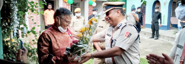 ASANSOL-DURGAPUR POLICE COMMISSIONERATE WEST BENGAL GOVERMENT Oldage and Child Care Homes visited by ADPC